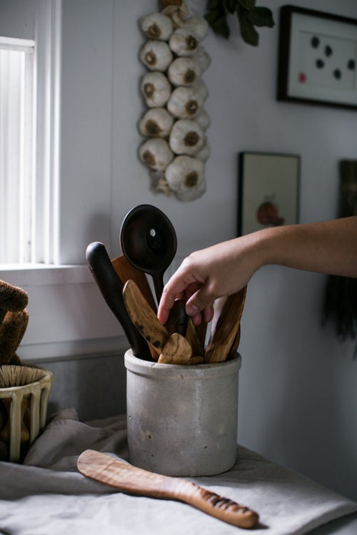Image of Mixed Wooden Spreaders and Sautee Spatulas