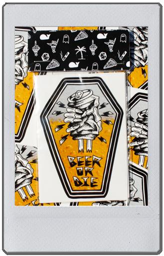 Image of STICKER PACK - BEER