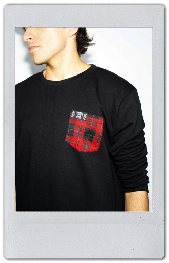 Image of POCKET CREWNECK