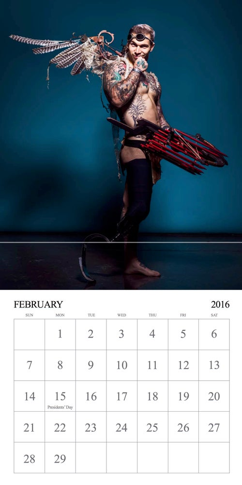 Image of Alex Minsky 2016 Calendar