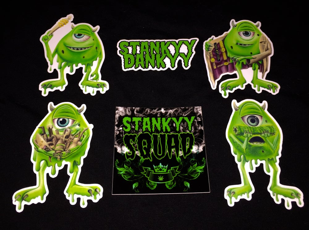 Image of Stankyy Sticker Pack (save $4)