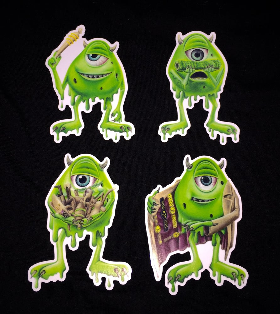 Image of Mike WAXowski Sticker Pack (save $2)
