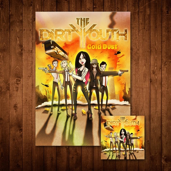 Image of Gold Dust Album + Signed Poster