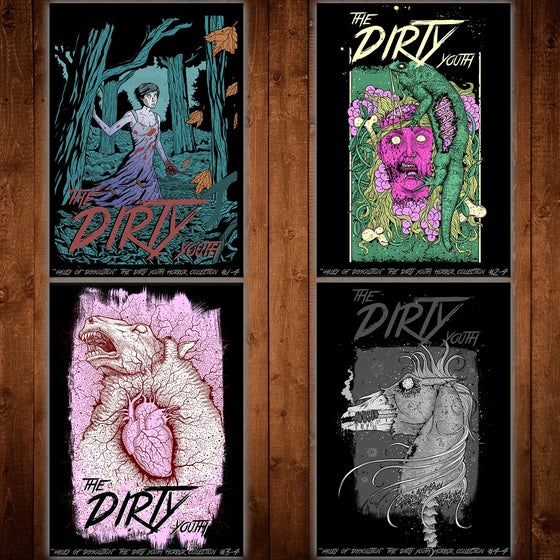Image of Limited Edition - Horror Screen Print Bundle
