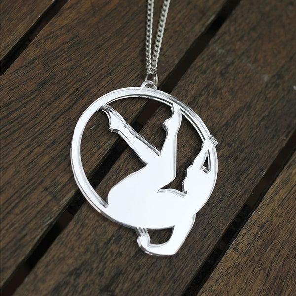 Image of Aerial Hoop Necklace