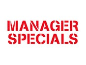 Image of Manager's Specials