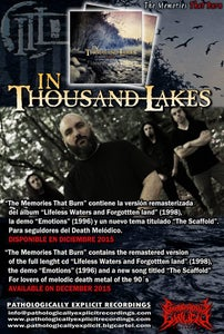 Image of IN THOUSAND LAKES-THE MEMORIES THAT BURN-  CD