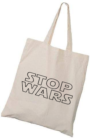 Image of Stop Wars Bag