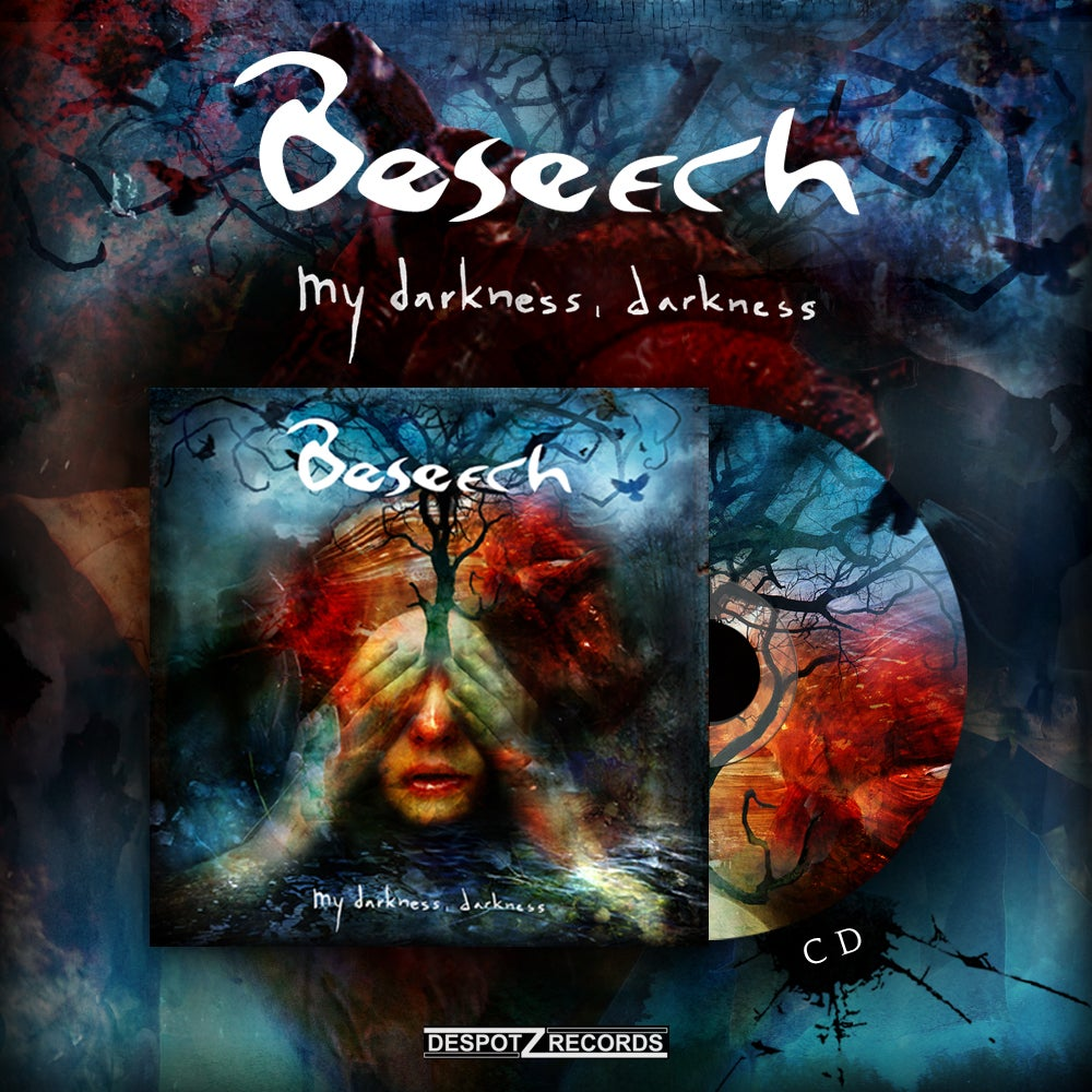Image of Beseech - My Darkness, Darkness (CD)
