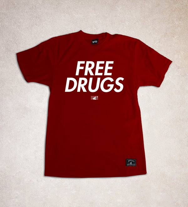 Image of CAUSTIC: FREE DRUGS (CARDINAL)