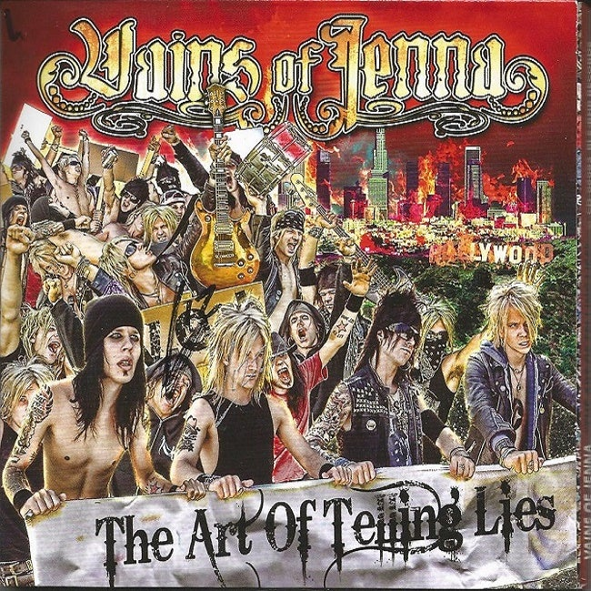 """Image of Vains of Jenna """"The Art Of Telling Lies"""" (2009)"""