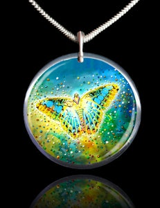 Image of The Magic Butterfly Energy Pendant