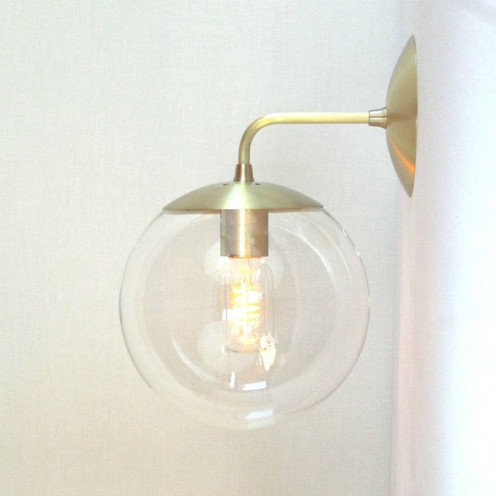 adapted for eu use  orbiter  wall sconce  mid century modern  -  image of adapted for eu use  orbiter  wall sconce  mid century modernwall