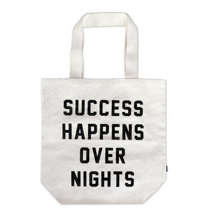 Image of Success Happens Over Nights Tote