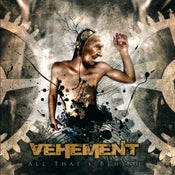 "Image of VEHEMENT ""All That's Behind"" CD"