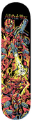 Image of ALL OUT WAR SKATE DECK (IN STOCK)