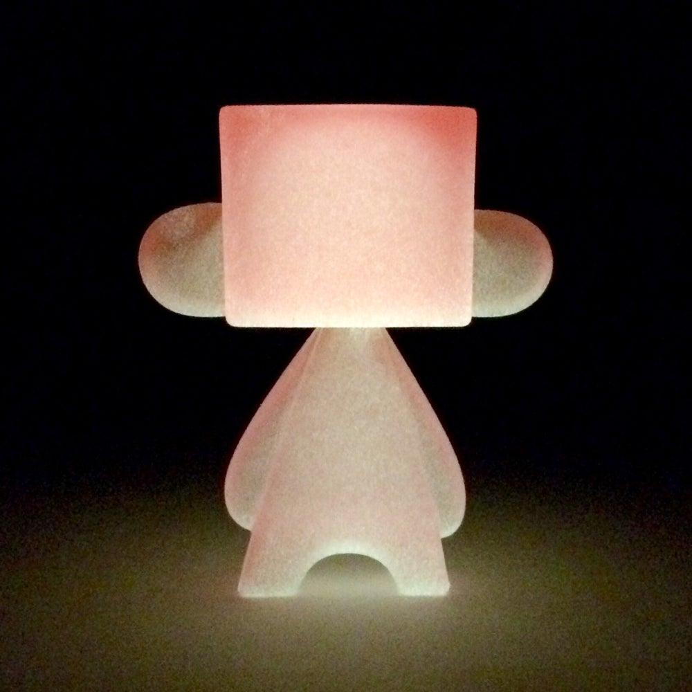 Image of Mini-MADL 3in Resin TOXIC: 3 (Pink)