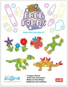 Image of Poplocks Free Forms Pre-Cut Packs