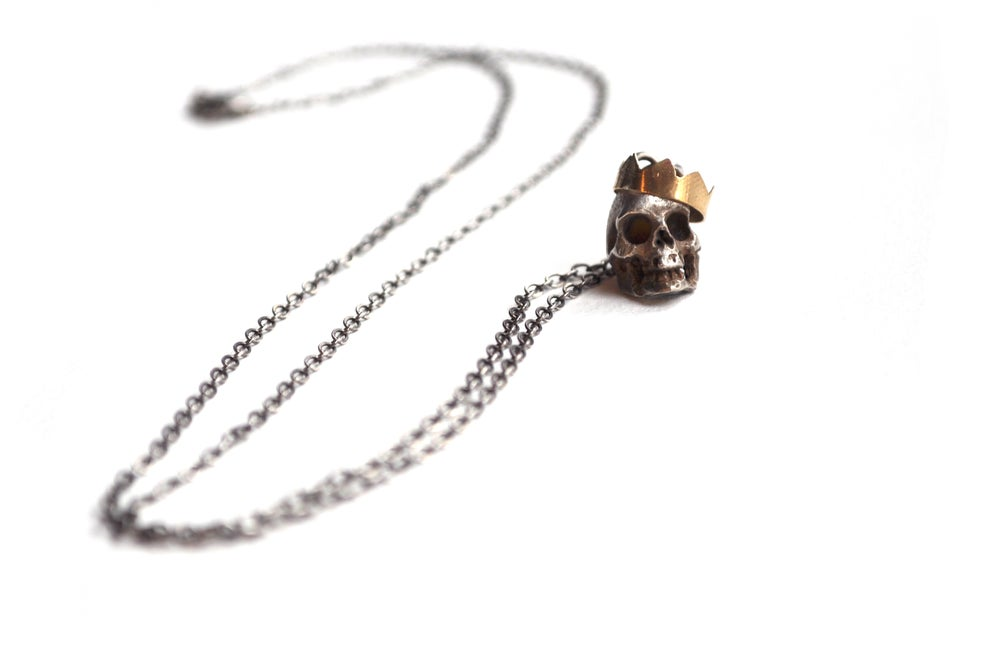 Image of Collier Le Roi Fou / Mad King Necklace