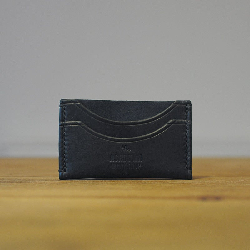 Image of Classic Card Holder - Midnight Blue