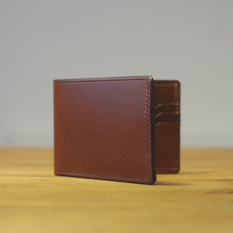 Image of Premium Bi-Fold Wallet - Almond