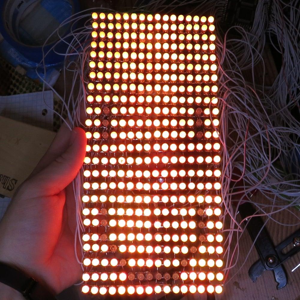 Image of Guy Man Red-Green LED matrix Kit