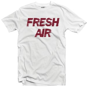 "Image of LIKE MIKE ""FRESH AIR"" Maroon/White"