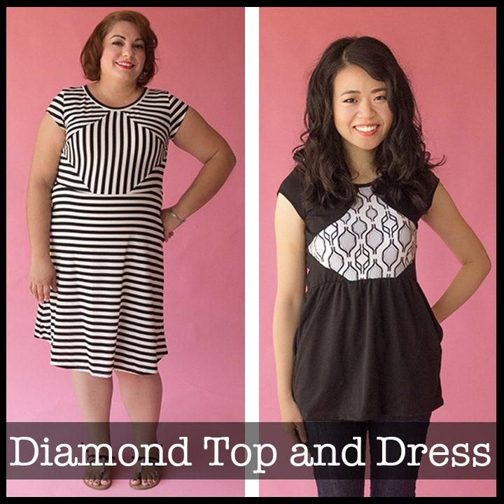 Image of Diamond Dress and Top
