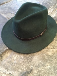 Image of Green trilby