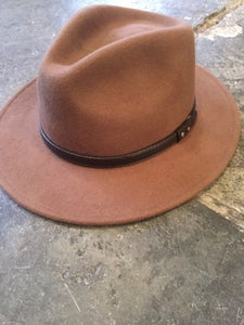 Image of Tan trilby