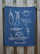 Image of Knots Tea Towel