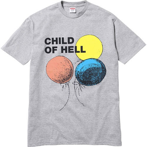 Image of Supreme Child of Hell Tee Grey XL