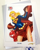 Image of TOYSREVIL-Edition Supergirl Print by Noval N. Hernawan