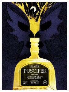 Image of Puscifer poster Atlanta GA. 11/08/15