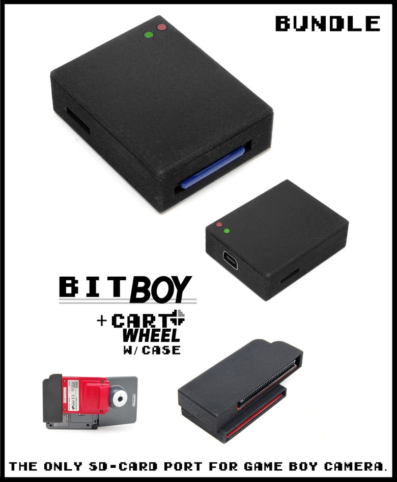 Image of BitBoy + CartWheel with Case [Bundle]