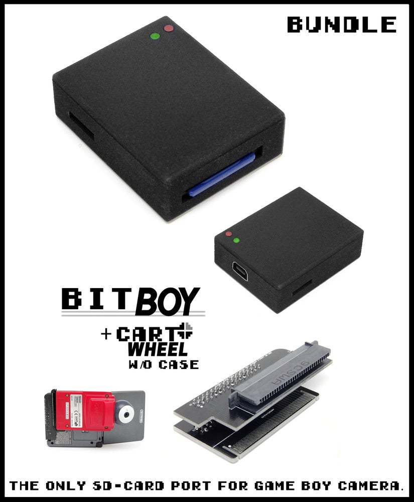Image of BitBoy + CartWheel without Case [Bundle]