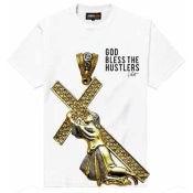 Image of God Bless S/S (White)