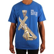 Image of God Bless S/S (Blue)