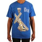 Image of God Bless S/S (Blue)