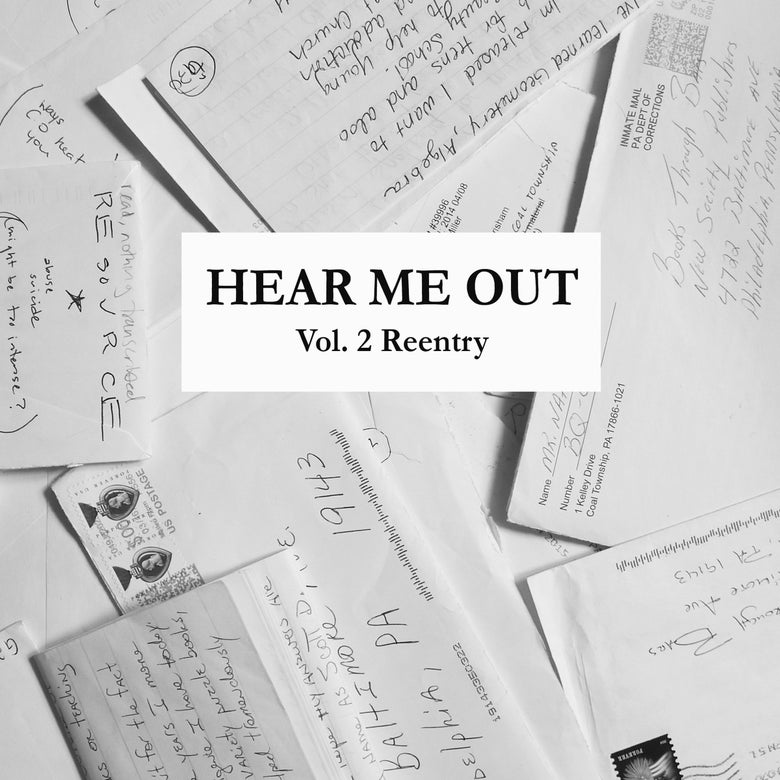 "Image of HEAR ME OUT Zine: Vol.2 Reentry (7""x8.5"", 32 pages)"