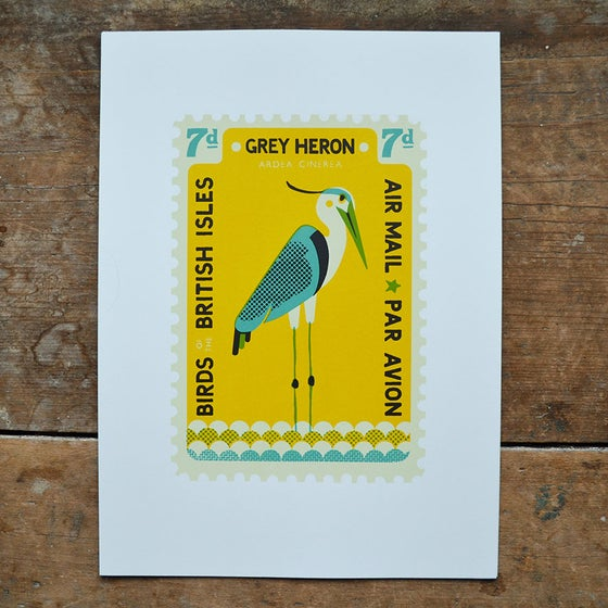 Image of Heron Stamp