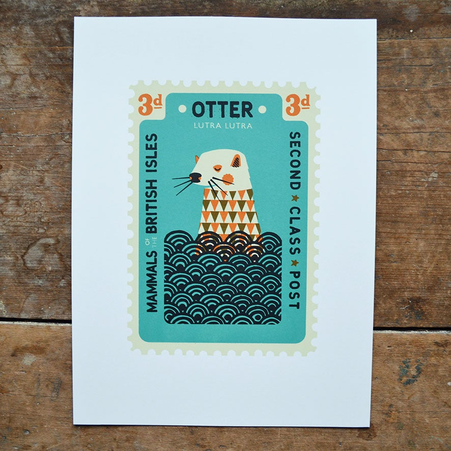 Image of Otter Stamp