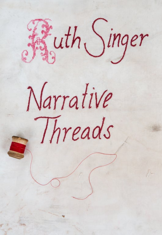 Image of Narrative Threads catalogue Printed or PDF copy