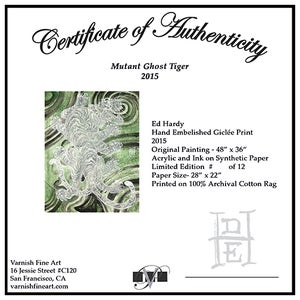 Image of Ed Hardy: Mutant Ghost Tiger Print