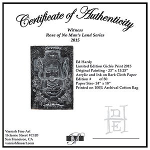 Image of Ed Hardy: Witness Print