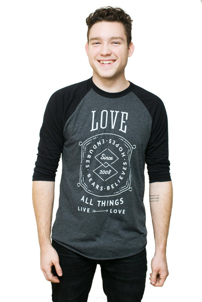 Image of Love All Things Baseball Tee