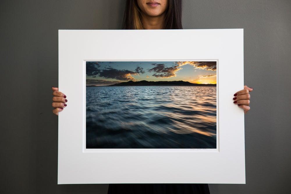 Image of Sunrise on the lake