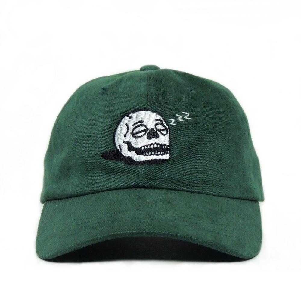 Image of Sleeping Skull Cap - Spruce Green