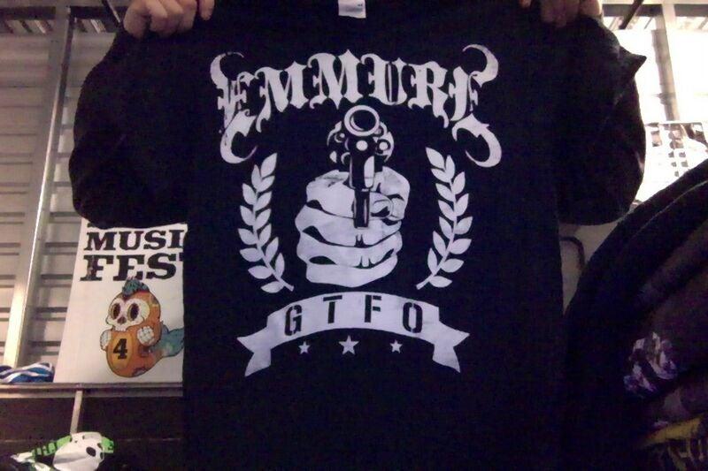 "Image of EMMURE ""GTFO"" SHIRT"