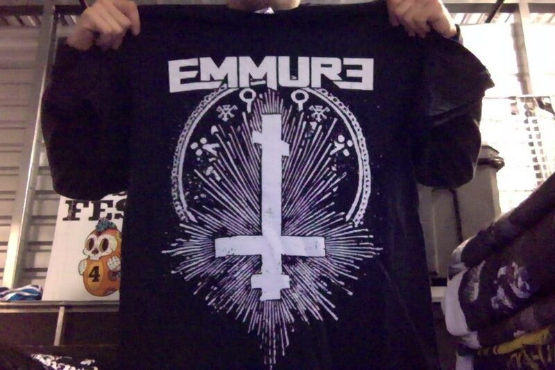 "Image of EMMURE ""CROSS"" SHIRT"
